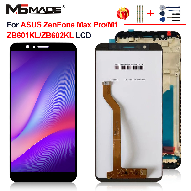 Original For Asus Zenfone Max Pro M1 <font><b>LCD</b></font> Touch Screen Digitizer Display Replacement Assembly Parts 5.99