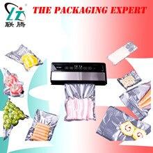 Kostenloser Versand Vakuum Abdichtung Maschine Tasche Sealer Frische Verpackung Lebensmittel Obst Fisch Fleisch Packer Kunststoff Film Vakuum Film Hause Verwenden