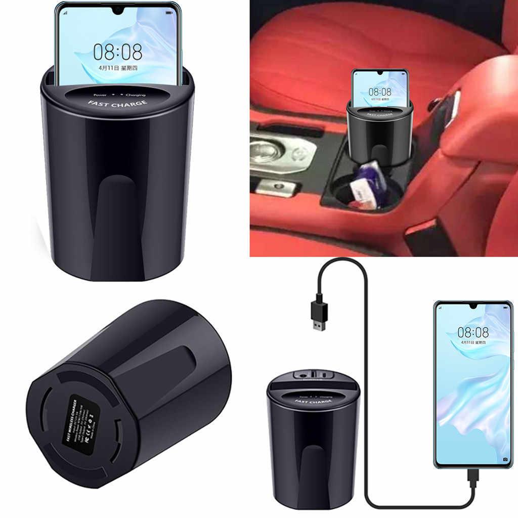 高品質ホット販売 10 ワット X9 車のワイヤレス充電器カップ usb 出力 forSamsung 銀河 Note10/Note10 + 購入直接販売