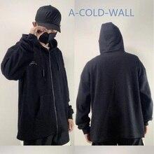 New A-COLD-WALL ACW Hoodie Men Women Draw Rope Zipper Stranger Things Sweatshirt Best Quality Streetwear A COLD WALL Hoodies