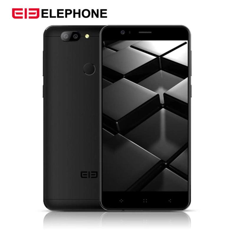 "Original New ELEPHONE P8 Mini 4G LTE Mobile Phone 4GB 64GB MTK6750T Octa Core Android 7.0 16.0MP Fingerprint ID 5.0"" Cellphone"