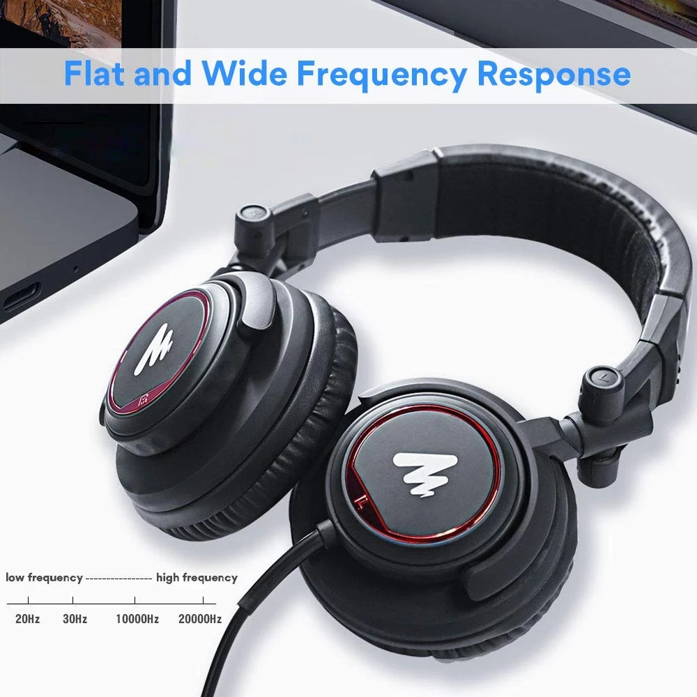 Maono AU-MH501 Professional Studio Monitor Headphone 6