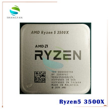 CPU Processor 3500x3.6-Ghz Amd Ryzen AM4 Six-Core 7NM 65W L3--32m 100-000000158-Socket