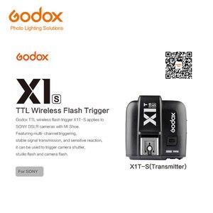 Image 4 - Godox Mini Speedlite TT350S Camera Flash TTL HSS GN36 + X1T S Transmitter for Sony Mirrorless DSLR Camera A7 A6000 A6500 A7RII