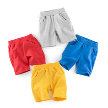 Boys Shorts Children Pants Trousers Little Kids Cotton Casual Summer for Cool Smiles