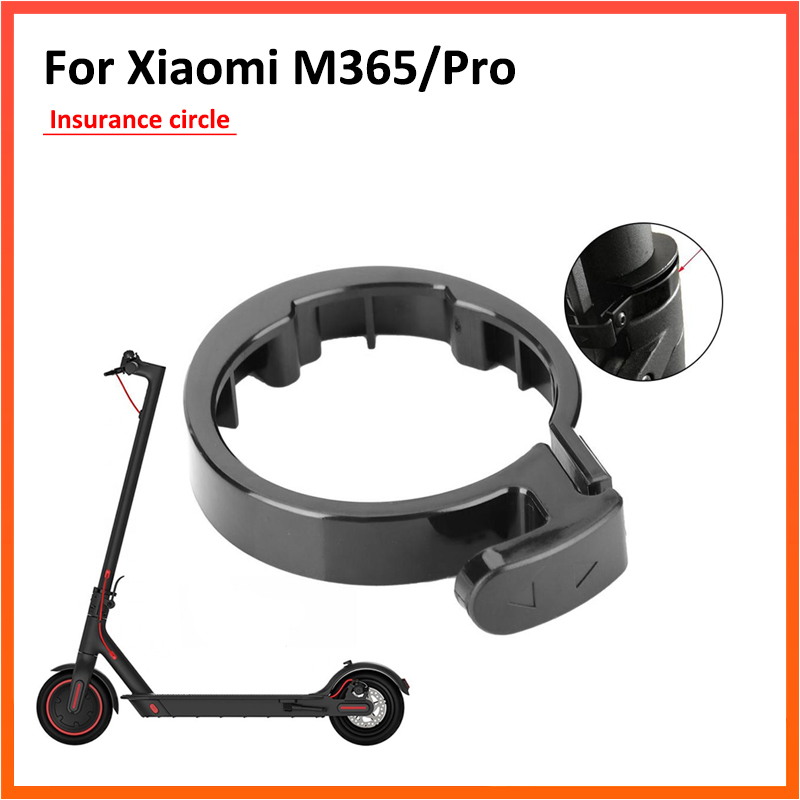 Scooter Front Tube Stem Folding Guard Ring For Xiaomi M365 Mijia M365 Pro Electric Scooter Tools Pack Insurance Circle Parts