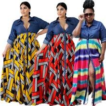 Wholesale Dropshipping Fall Casual Long Sleeve Shirt Dress L