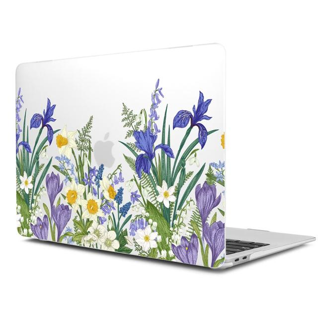 Marble Flower Pattern Case for MacBook 1