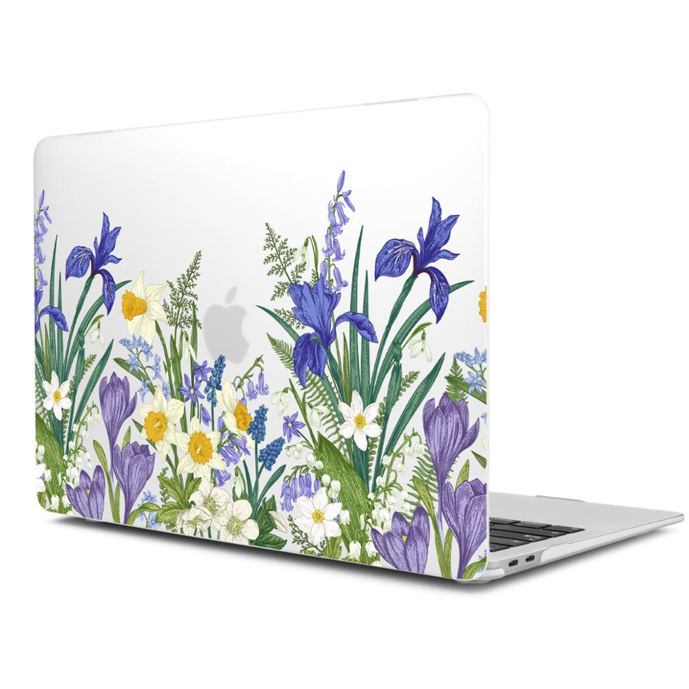 Image 3 - Marble Flower Pattern Laptop Case Keyboard Cover for New MacBook Air 13 2018 2019 Pro 13.3 15 inch Retina Touch Bar A2159 A1932Laptop Bags & Cases   -