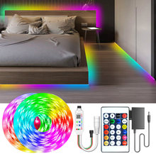 Strisce LED WS2811 Dream color SMD LED Light RGB indirizzabili individualmente nastro flessibile intelligente RGB diodo DC 12V