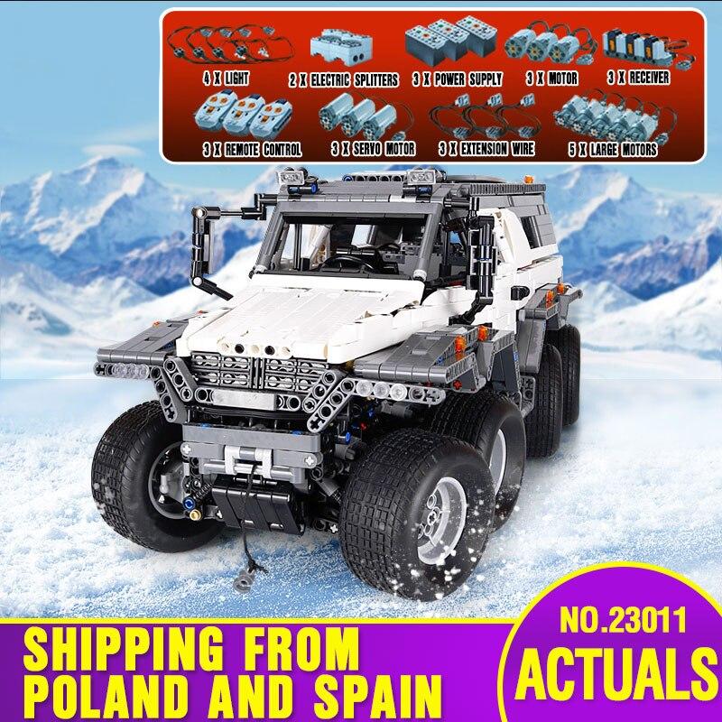 DHL 23011 Série Technic veículo Off-road Modelo Kits de Construção de Brinquedos Bloco Educacional Bricks Compatível Com 5360 Modelo de Carro brinquedos