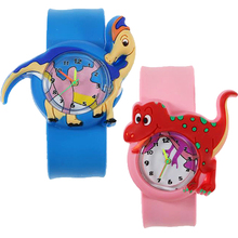 Cartoon Dinosaur World Children Watch Waterproof Kids