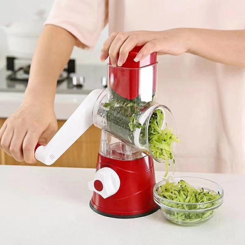 Manuelle gemüse Cutter Mandoline Slicer Schredder Obst Cutter kartoffel slicer rettich reibe Küche Gadget Werkzeug