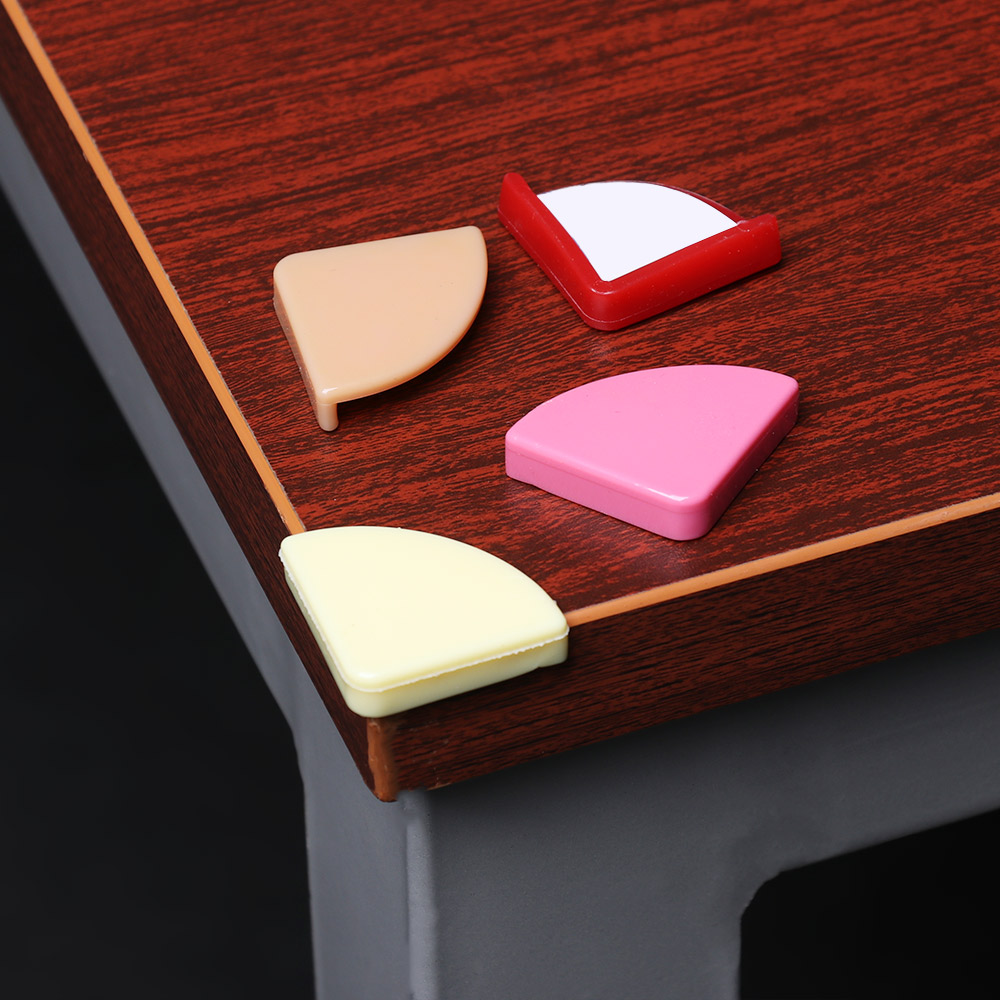 4PCS  Soft Silicon Child Baby Safe Corner Protector Table Desk Corner Guard Children Safety Edge Guards For Baby Kids Protection