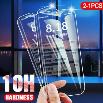 10H 1-2pcs Tempered Glass For Oppo A9 A5 2020 F11 Pro Screen Protector Protective Glass For Oppo Realme X C1 C2 3 Reno 2 Reno2