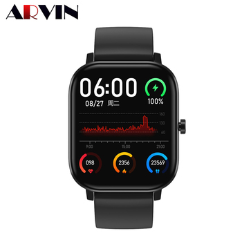 Arvin DT35 Bluetooth Call Heart Rate Tracker Smartwatch 2020 ECG PPG PPG+HRV NEW Men Women Smart Watch Fitness Smart Watches 1