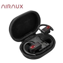 Blitzwolf airaux AA UM2 tws bluetooth5.0 esportes sem fio fone de ouvido com trança caso carregamento earhook estéreo fones alta fidelidade