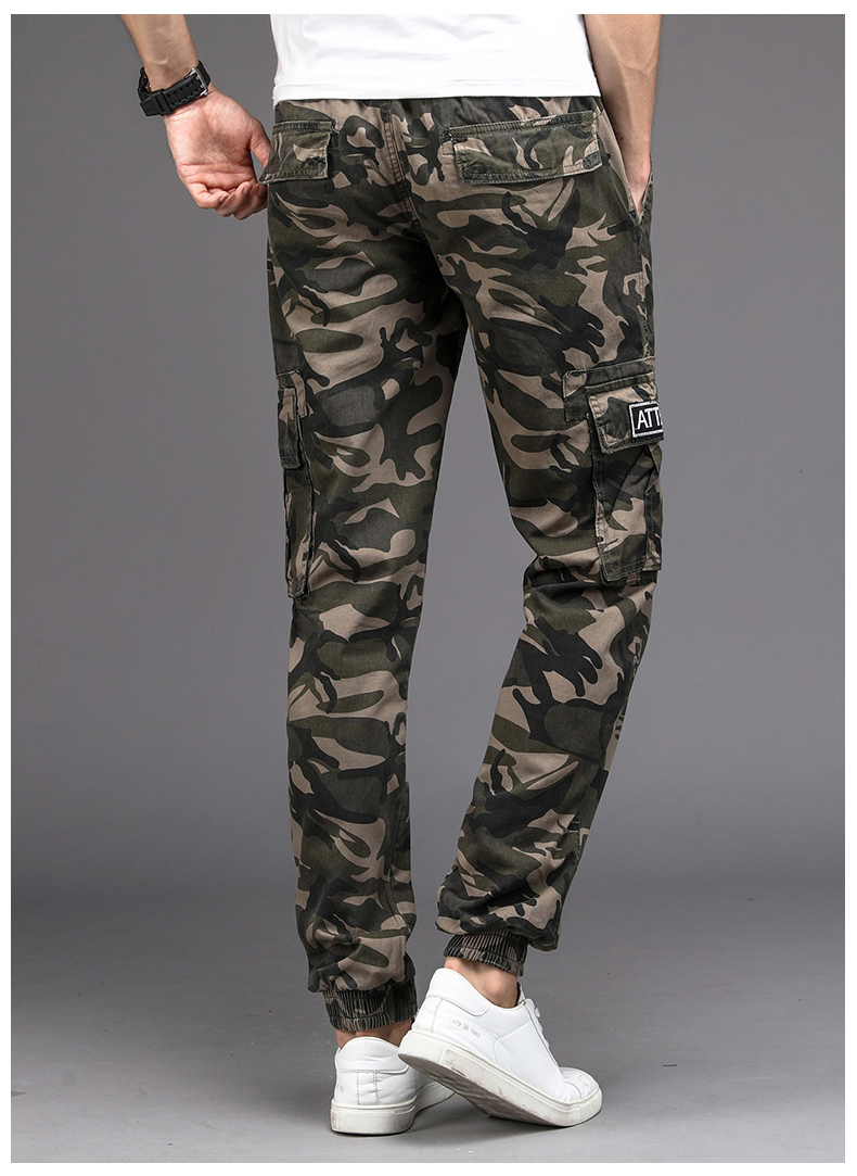 KSTUN Cargo Pants Men Camouflage Harem Joggers Men's Causal Hip Hop Trousers Drawstring Sweatpants Male Large Size Pants Good Quality 14