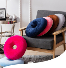 Soft Donut Seat Cushion Hemorrhoid Treatment ring Tailbone for Hemorrhoids, Prostate Cushion, Pregnancy blue