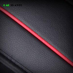 Image 5 - (Frente + traseira) cobertura de assento do carro de couro luxo 4 temporada para toyota rav4 2017 2013 CH R 2017 2016 corolla e120 e130 estilo do carro