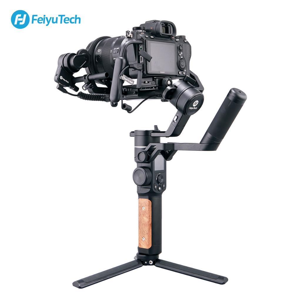Image 2 - FeiyuTech AK2000S 3 axis gimble DSLR Camera Stabilizer Handheld Video Gimbal fit for DSLR Mirrorless Camera pk ak2000Handheld Gimbal   -