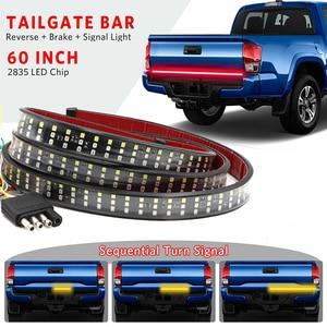 "Image 1 - Niscarda 60"" 432 Led Tailgate Truck Light Strip Bar Waterproof 5 Function Reverse Taillight Brake Stop Turn Signal Warning Light"