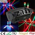 Professionale 8X10W Mini LED Luce Ragno RGBW DMX512 di Controllo del Suono LED Effetto Fascio Commovente Fase di Illuminazione Testa /Della Discoteca del Dj Del Proiettore