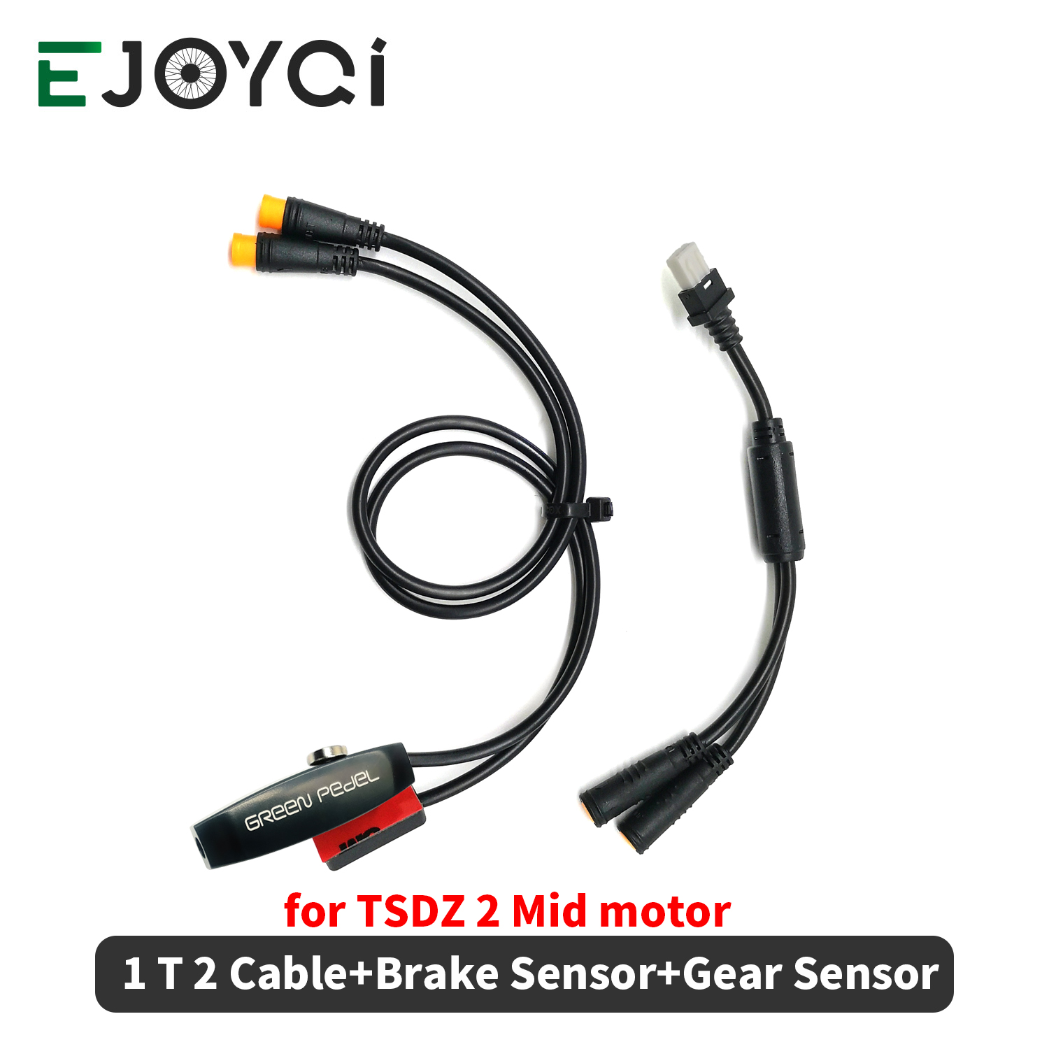 TSDZ 2 <font><b>Gear</b></font> Sensor Shift Sensor Brake Sensor Y-Splitter 1 T 2 Cable E Bike Replacement <font><b>Gear</b></font> Sensor for <font><b>TongSheng</b></font> Mid Drive Kit image