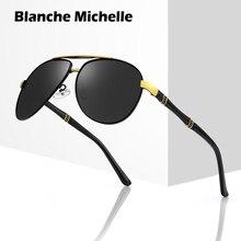 Yüksek kaliteli alaşımlı Pilot güneş gözlüğü erkekler polarize UV400 güneş gözlüğü erkek sürüş Sunglass erkek güneş gözlüğü 2020 oculos ile kutusu sunglasses men sun glasses man sunglass mens