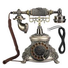 MS 5700D Hars Klassieke Vintage Draaitafel Wijzerplaat Antieke Rotatie Europese Telefoon Vintagetelephone Inalambrico De Casa