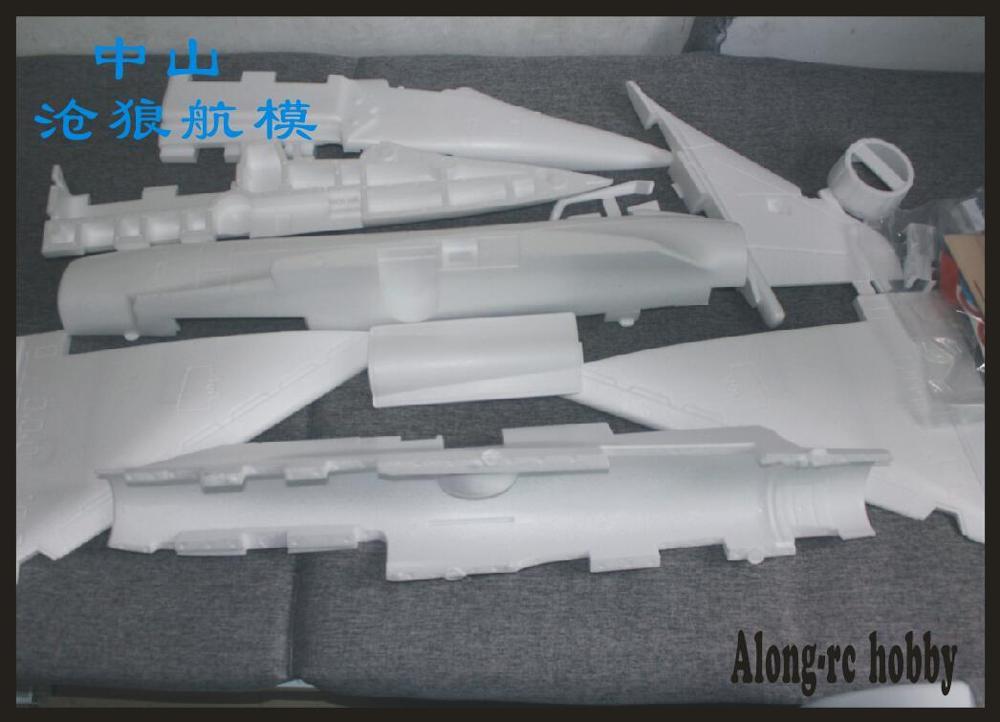 Avion RC EPO 90mm, mousse de Jet EDF, Mirage 2000, kit (KIT uniquement de mousse/pas de télécommande) 4