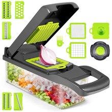 Cortador de legumes multifuncional mandoline slicer frutas descascador batata cenoura ralador acessórios cozinha cesta vegetal chopper