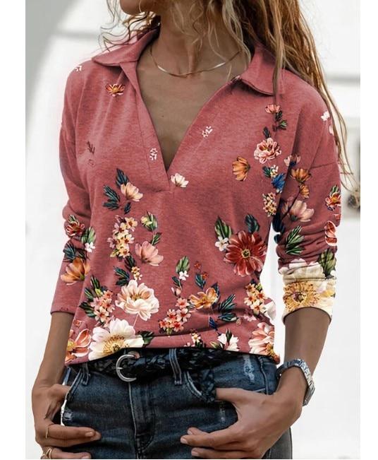 Aprmhisy Graphic Shirts Women Autumn New Long Sleeve Casual Streetwear Blouse Shirt Blusas Femininas 28