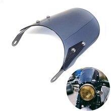 Carénage de pare-brise de phare de moto, Compatible avec Triumph Bonneville 2001 – 2017,T100 2003-2017
