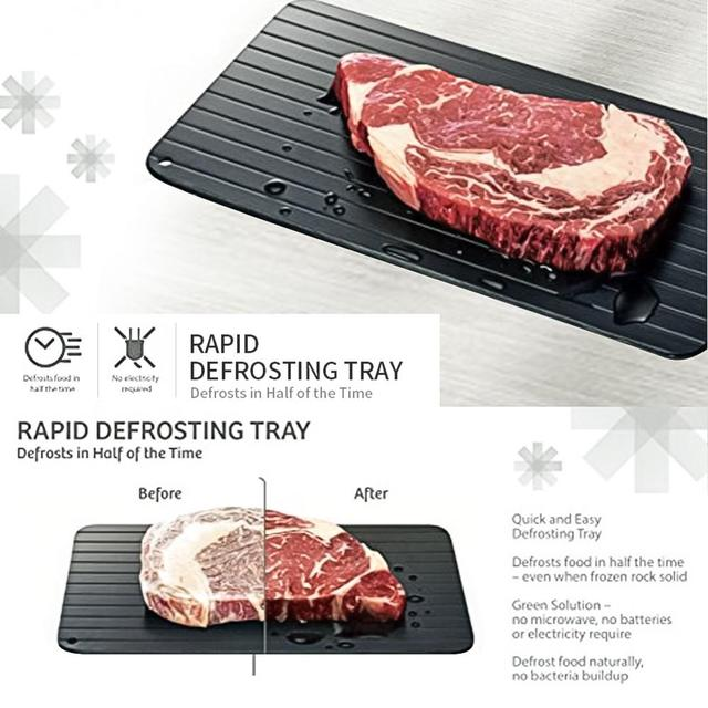 Meijuner fast defrosting tray thaw