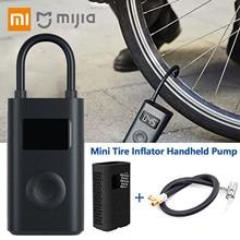 Xiaomi Mijia gonfleur Portable pompe à Air électrique Mini LED capteur de pression numérique intelligent pour vélo moto voiture pneu football