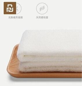 Image 4 - 2 ألوان Youpin ZSH منشفة سلسلة الهواء منشفة الكبار غسل منشفة القطن المنزلية لينة وسهلة لتجفيف المناشف