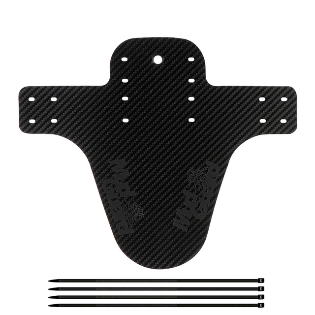 1 Set Colorful Bike Fenders Mountain Road Bike Mud Guard Wings Ass Saver Carbon Fiber Front Rear Mudguard Bicycle Accessories