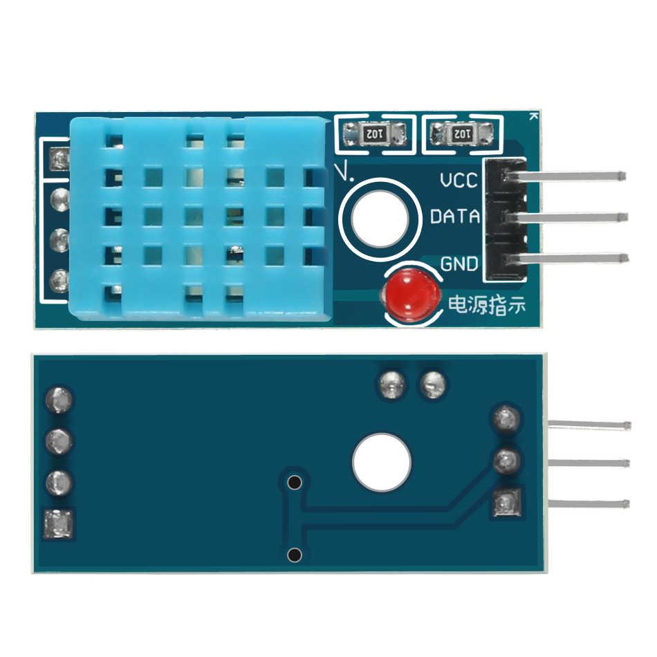 """DHT11 Temp Sensor Development KIT 0.96/"""" OLED I2C ESP8266 NodeMcu V3 CH340"""