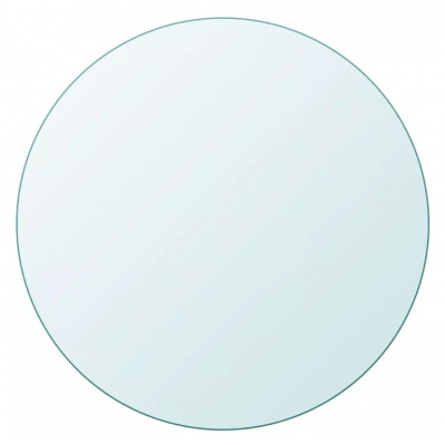 Table Top Tempered Glass Round 800mm