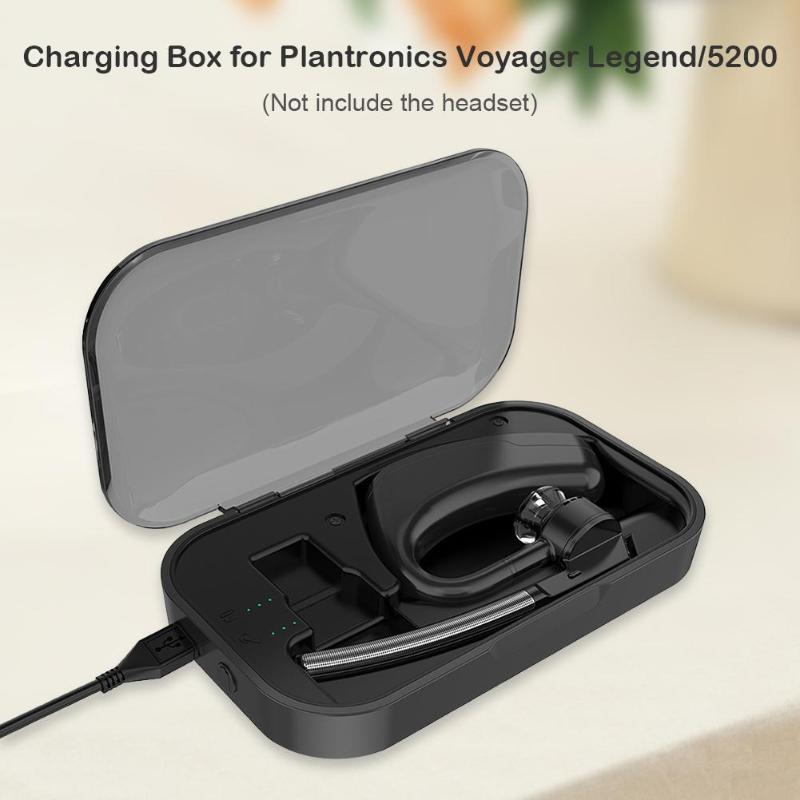 Wireless Bluetooth Headset Charge Case Plantronics Voyager Legend Black Sleek Design Earphone Portable Storage Usb Charging Case Earphone Accessories Aliexpress