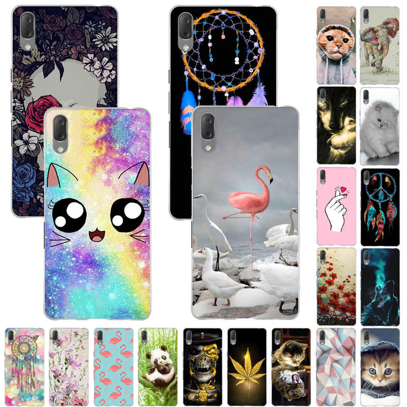 Cover Case For Sony Xperia L3 Case Cover Soft TPU Silicone Luxury Fundas For Sony Xperia L3 Case Coque For Sony Xperia L3 Bumper