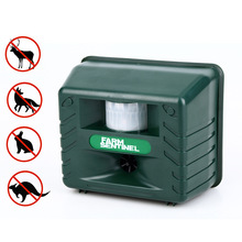 Ultrasonic Pest Repellent Anti-Animal Repellent Bird Crow Mice Repellent Animal Scaring Equipment Garden Supplies