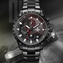 CASIMA Sport chronograph men watches high-end luxury steel f