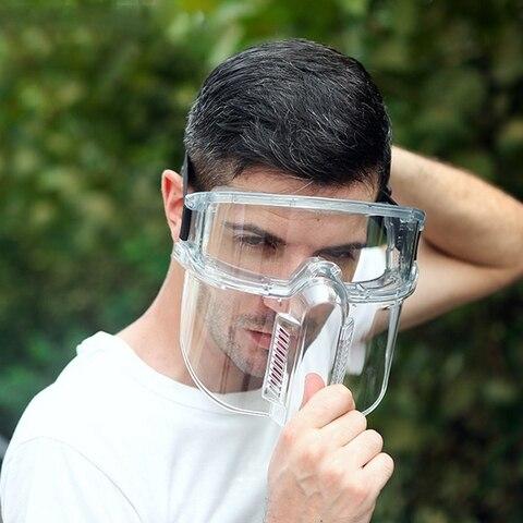 transparente proteger mascara splash proof cozinha quimica