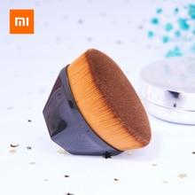 Щеточка для макияжа Xiaomi, мягкие безопасные для кожи кисти для основы под макияж, портативные большие Экономичные Косметические кисти для основы под макияж с футляром для переноски
