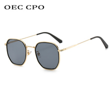 OEC CPOLuxury Square Sunglasses Women Men Vintage Brand Meta