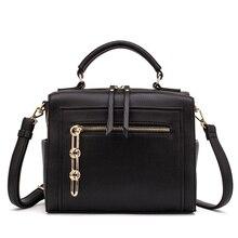 MIYACO Women Leather Handbag Black Shoulder Bags Crossbody Bags Female Messenger Bag Casual Ladies Hand Bags 2019
