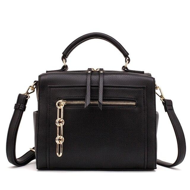 MIYACO sac à main en cuir pour femmes, sac noir, sacs à bandoulière, sacoche pour dames, collection décontracté