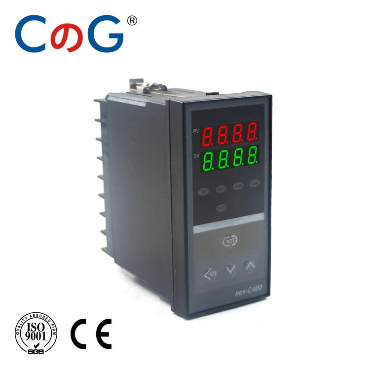 CG REX-400 48*96mm 1300 Degree Input K J PT100 0-10V 4-20mA Output SSR Relay 220V 24V 380V Thermostat PID Temperature Controller